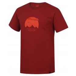 Pánske turistické tričko s krátkym rukáv HANNAH-RONDON-ketchup