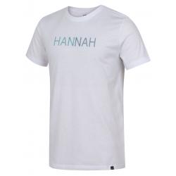 Pánske turistické tričko s krátkym rukáv HANNAH-JALTON-bright white