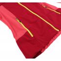 Dámska turistická softshellová bunda HANNAH-SANDEE-cherries jubilee/rouge red -