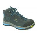 Dámska turistická obuv stredná GRISPORT-Medolla - Dámska vysoká turistická obuv značky Grisport v modro-sivom prevedení.