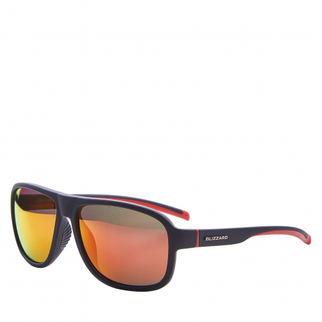 Športové okuliare BLIZZARD-Sun glasses PCSF705110, rubber black, 65-16-135