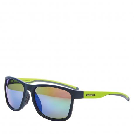 Sportovní brýle BLIZZARD-Sun glasses PCSF704140, rubber dark green, 63-17-133