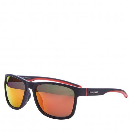 Sportovní brýle BLIZZARD-Sun glasses PCSF704130, rubber black, 63-17-133
