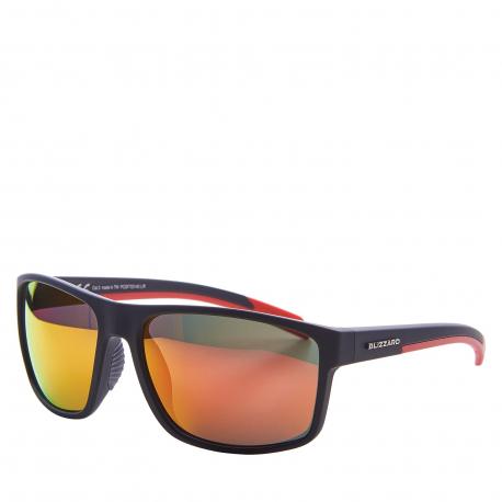 Športové okuliare BLIZZARD-Sun glasses PCSF703140, rubber black, 66-17-140