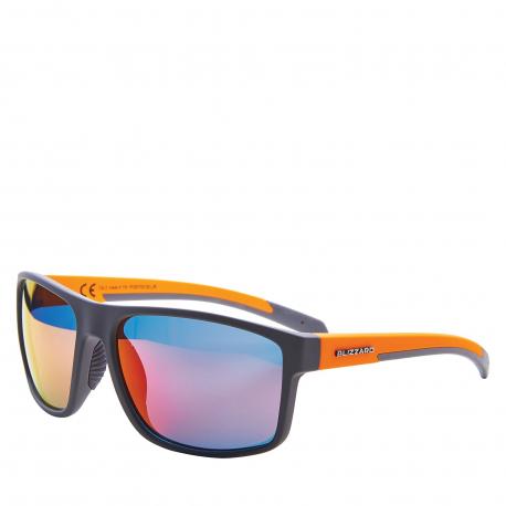 Športové okuliare BLIZZARD-Sun glasses PCSF703120, rubber dark grey, 66-17-140