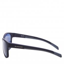 Športové okuliare BLIZZARD-PCSF702110, rubber black, 65-16-135