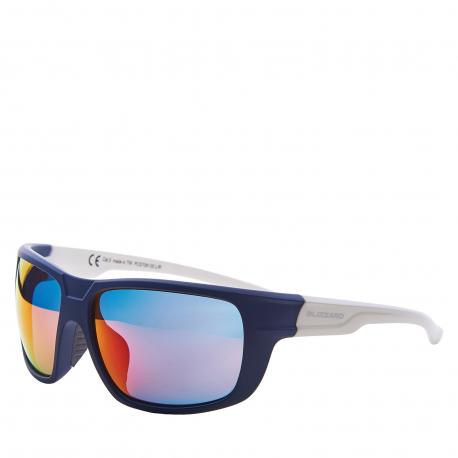 Sportovní brýle BLIZZARD-Sun glasses PCS708130, rubber dark blue, 75-18-140