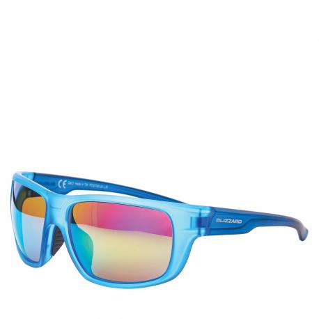 Športové okuliare BLIZZARD-Sun glasses PCS708120, rubber trans. light blue , 75-18-140