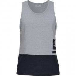 Pánske tréningové tričko bez rukávov UNDER ARMOUR-UA SPORTSTYLE TANK-GRY
