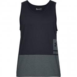 Pánske tréningové tričko bez rukávov UNDER ARMOUR-UA SPORTSTYLE TANK-BLK