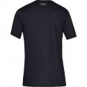 Pánské tréninkové triko s krátkým rukávem UNDER ARMOUR-SPORTSTYLE LOGO SS-BLK -