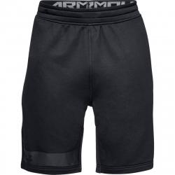Pánske tréningové kraťasy UNDER ARMOUR-MK1 Terry Short-BLK