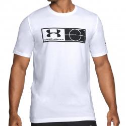Pánske futbalové tričko s krátkym rukávo UNDER ARMOUR-UA Tag Tee-WHT