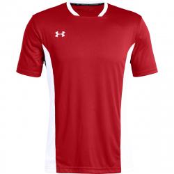 Pánske futbalové tričko s krátkym rukávom UNDER ARMOUR-Challenger II Training Top-RED