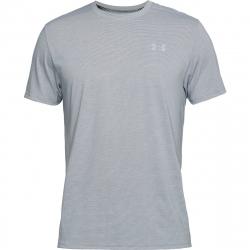Pánske bežecké tričko s krátkym rukávom UNDER ARMOUR-Threadborne Streaker SS-GRY