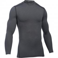 Pánske kompresné tričko s dlhým rukávom UNDER ARMOUR-UA CG ARMOUR MOCK-GRY