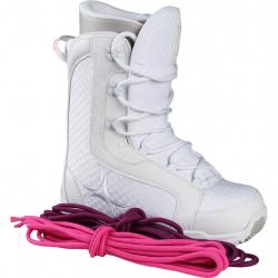 Dámska snowboardová obuv RADICAL-WHITE STAR