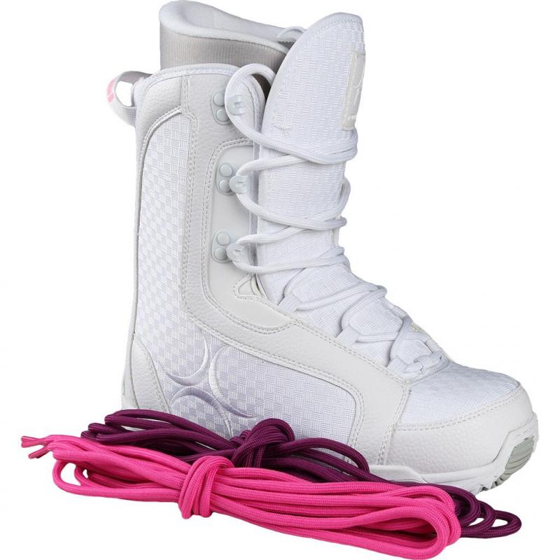 030e74c9d0da Dámska snowboardová obuv RADICAL-WHITE STAR -