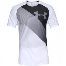 Pánske tréningové tričko s krátkym rukáv UNDER ARMOUR-Vanish SS-WHT