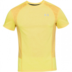 Pánske bežecké tričko s krátkym rukávom UNDER ARMOUR-UA SWYFT SHORTSLEEVE TEE-YLW