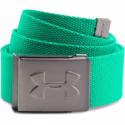 Pánsky opasok UNDER ARMOUR-UA WEBBING BELT-Jade/Graphite