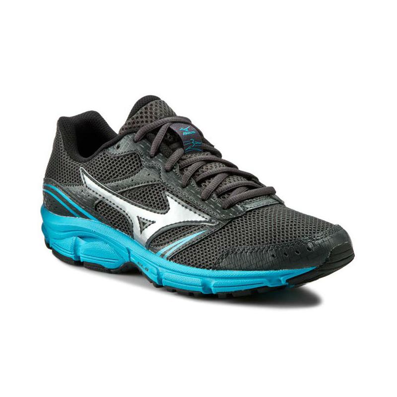5117bf2cd Dámska bežecká obuv MIZUNO-Wave Impetus 3 DarkSha/Silver/BlueAtol