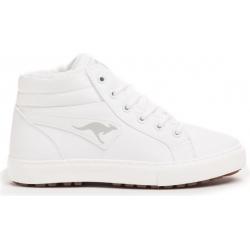 Detská rekreačná obuv KangaROOS-KaVu I - offwhite/lt grey K