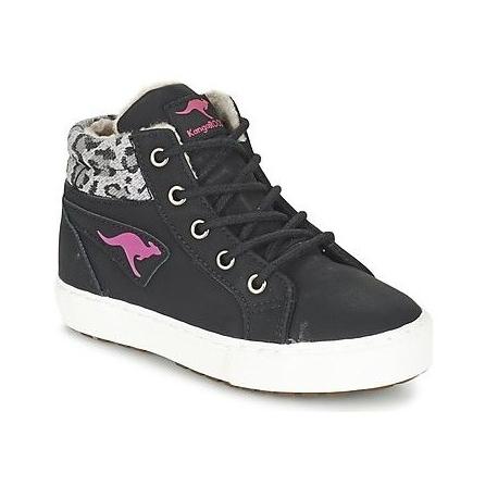 Dámska rekreačná obuv KangaROOS-KaVu I - black/magenta