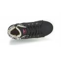 Dámska rekreačná obuv KangaROOS-KaVu I - black/magenta - Dámska vychádzková obuv značky Kangaroos.