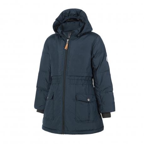 Dievčenská bunda COLOR KIDS-Rhoda padded jacket-Navy