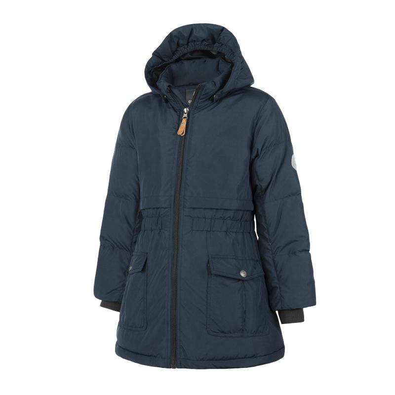 Dievčenská bunda COLOR KIDS-Rhoda padded jacket-Navy -