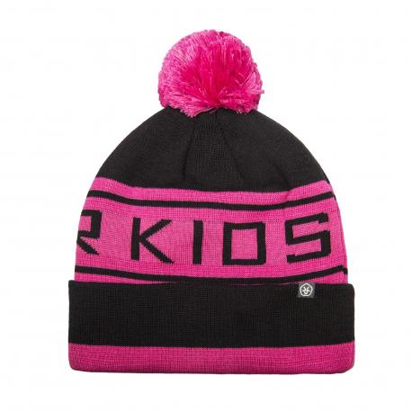 Dětská zimní čepice COLOR KIDS-Switter Hat-Pink