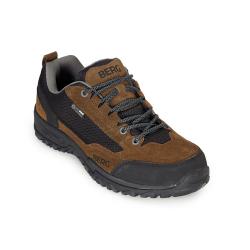 Pánska turistická obuv nízka BERG OUTDOOR-HAWK WP MN BROWN