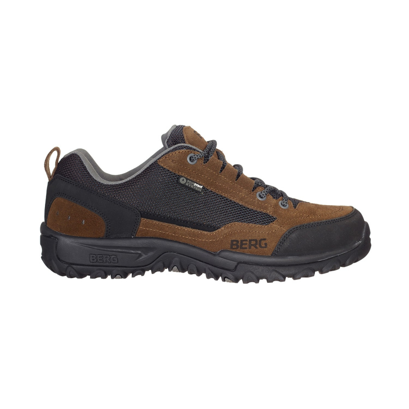 Pánska turistická obuv nízka BERG OUTDOOR-HAWK WP MN BROWN -