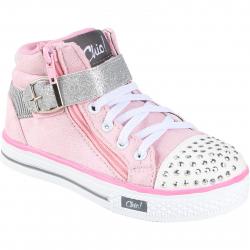 Dievčenská rekreačná obuv AUTHORITY-Chic Pink