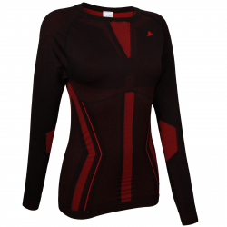 Dámské termo triko s dlouhým rukávem BERG OUTDOOR-CHUMERNA-WOMEN-Black