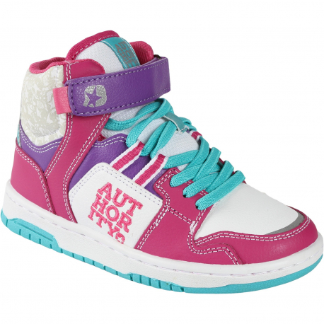 Dievčenská rekreačná obuv AUTHORITY KIDS-DISA mid R