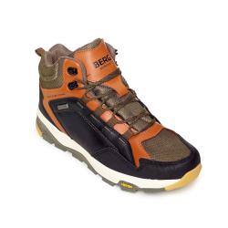 Pánska turistická obuv stredná BERG OUTDOOR-QUOKKA MN BR OD RAW