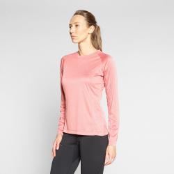 Dámske turistické tričko s dlhým rukávom BERG OUTDOOR-NAHANNI-WOMEN-Pink light