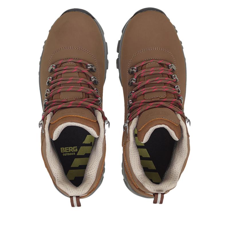 Dámska turistická obuv stredná BERG OUTDOOR-GROUSE SEPIA -