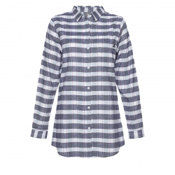 Dámská košile s dlouhým rukávem BERG OUTDOOR-TARIM DARK BLUE