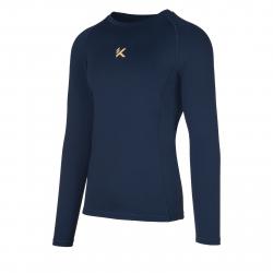Pánske tréningové tričko s dlhým rukávom ANTA-LS Tee-q418-MEN-Blue dark