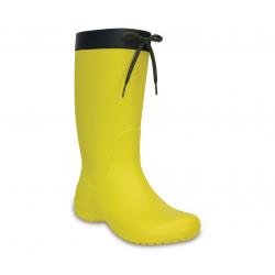 Dámske gumáky CROCS-Crocs Freesail Rain Boot - Lemon