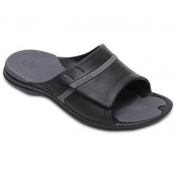 Obuv k bazénu (plážová obuv) CROCS-MODI Sport Slide - Black/Graphite