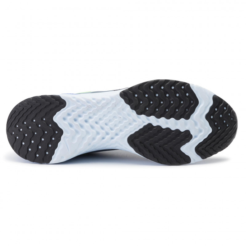 Pánska bežecká obuv NIKE-Odyssey React Flyknit 2 armory blue/lime blast-black -