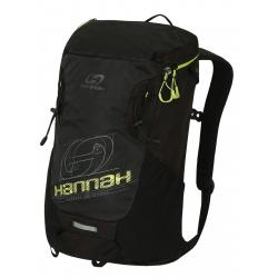 Turistický ruksak HANNAH-Raven 28 anthracite/lime green