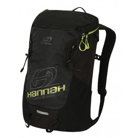 Turistický ruksak HANNAH-Raven 28 anthracite / lime green
