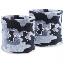 Potítka UNDER ARMOUR-UA Jacquard Wristbands -1277600-001-Camo/Grey