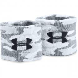 Potítka UNDER ARMOUR-UA Jacquard Wristbands -1277600-102-Camo/White