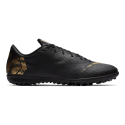 Pánske futbalové kopačky turfy NIKE-Mercurial Vapor X 12 Academy M TF black/vivid gold